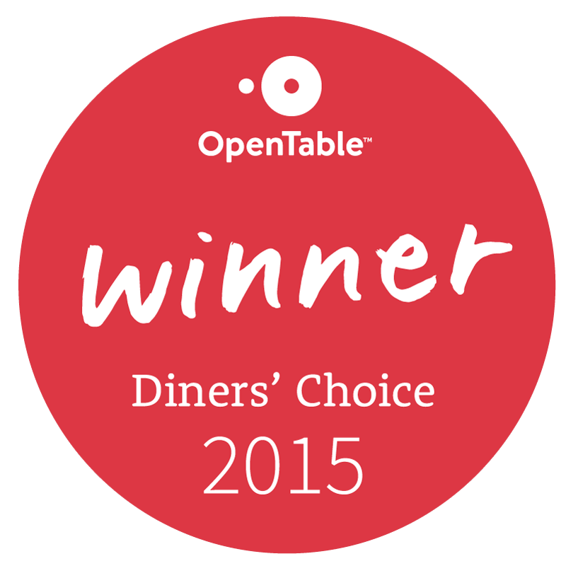 OpenTable diners' choice logo